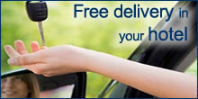 Free delivery in your hotel with Sorrento Car Rent