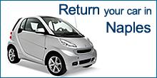 Return your car in Naples